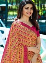 Prachi Desai Multi Colour Casual Printed Saree