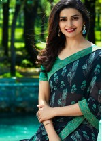 Prachi Desai Printed Saree