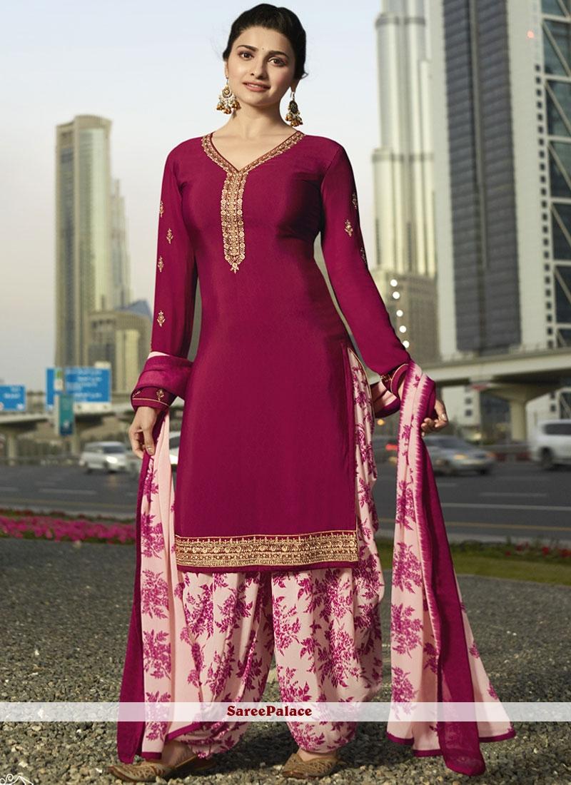 5250974c5fe Buy Prachi Desai Rani Designer Pakistani Suit Online