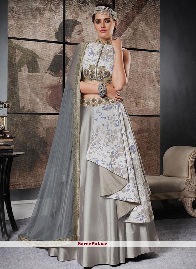 Preferable Jacquard Silk Lehenga Choli