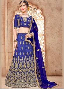 Preferable Malbari Silk  Embroidered Work Lehenga Choli