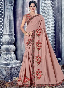 Prepossessing Designer Saree For Wedding
