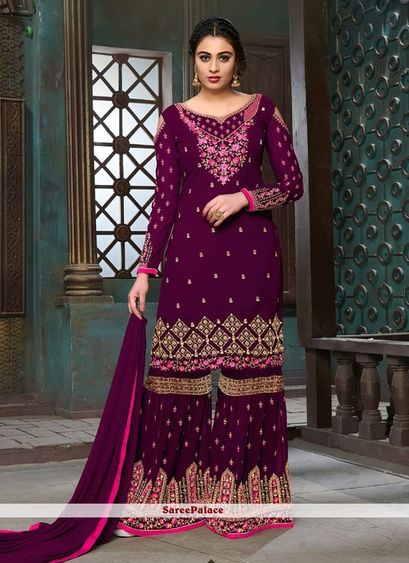 a9f284d267 Buy Prepossessing Lace Work Designer Pakistani Suit Online