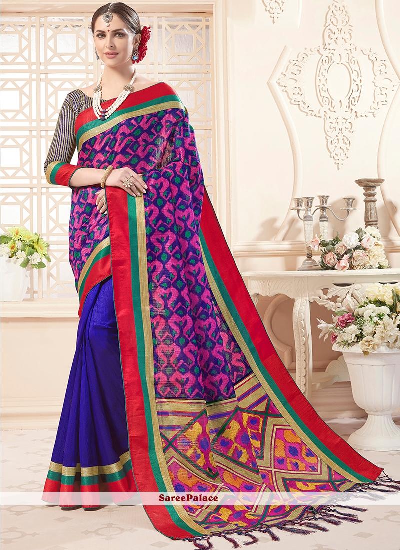 Print Ceremonial Designer Saree
