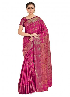 Printed Designer Traditional Saree