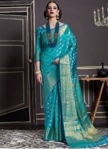 Prominent Art Silk Designer Traditional Saree