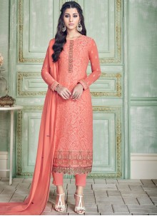Pure Georgette Pant Style Suit