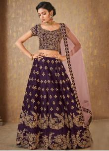 Purple Color Designer Lehenga Choli
