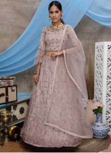 Purple Thread Party Designer Lehenga Choli