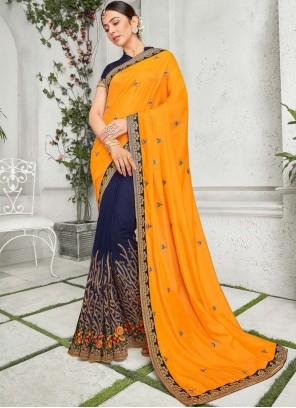 Rakul Preet Singh Art Silk Multi Colour Classic Saree