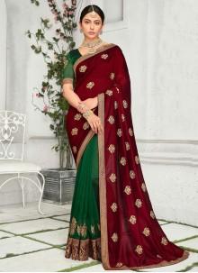 Rakul Preet Singh Multi Colour Ceremonial Classic Saree