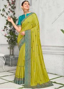 Rakul Preet Singh Green Traditional Saree