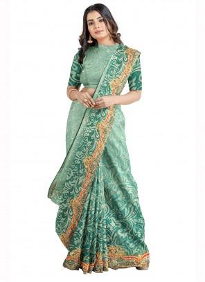Rama Brasso Classic Designer Saree