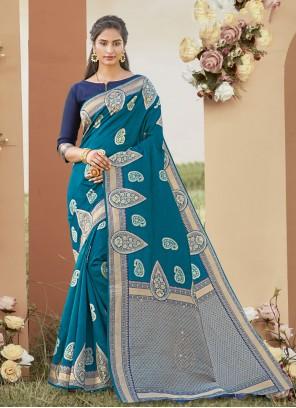 Rama Ceremonial Silk Traditional Saree
