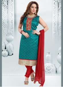 Rama Embroidered Readymade Suit