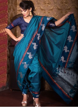 Rama Fancy Traditional Designer Saree
