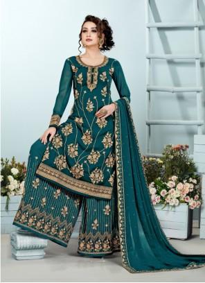 Rama Georgette Designer Pakistani Suit