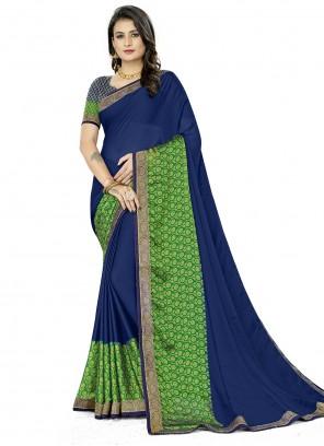 Rangoli Printed Silk Saree