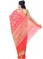 Rani Banarasi Silk Wedding Classic Designer Saree