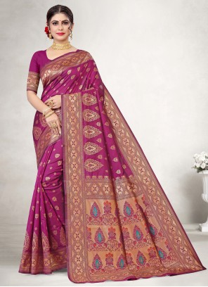 Rani Color Classic Saree
