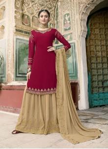 Rani Color Designer Pakistani Suit