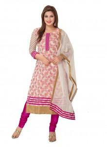 Rani Festival Banarasi Silk Trendy Designer Salwar Suit