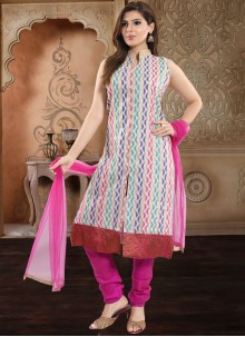 Rani Print Festival Churidar Salwar Suit