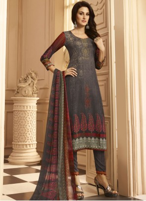 Ravishing Multi Colour Designer Suit