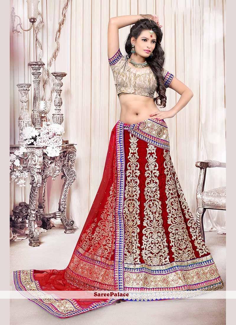 Ravishing Red Lehenga Choli
