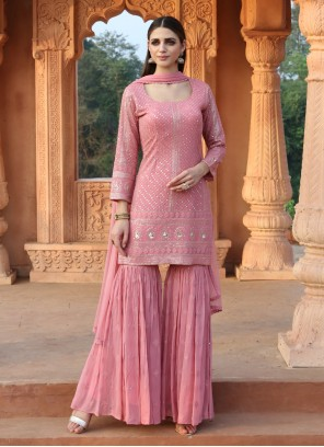Readymade Pink Suit For Ceremonial