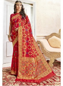 Red Color Saree