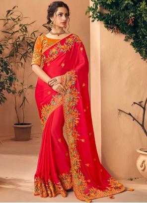 Red Color Silk Saree