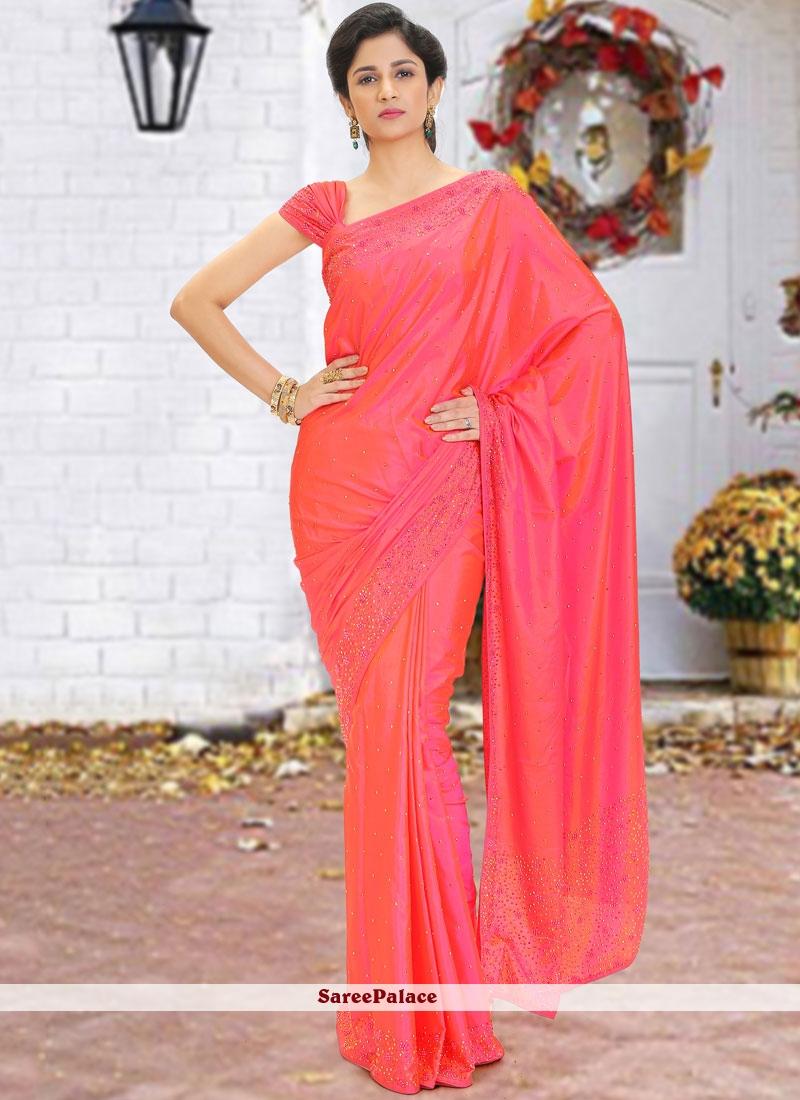 Red Wedding Classic Saree