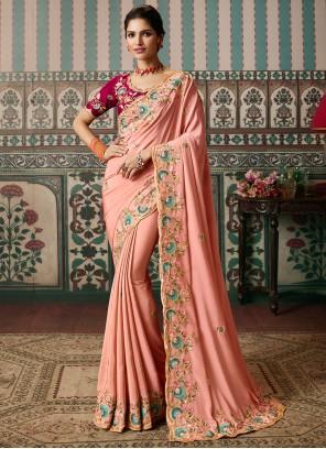 Resham Ceremonial Classic Designer Saree