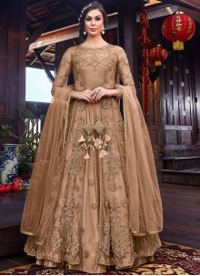 Resham Party Floor Length Anarkali Salwar Suit