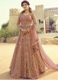 Resham Wedding Floor Length Anarkali Suit