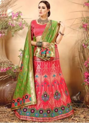 Royal Art Silk Weaving Work Lehenga Choli