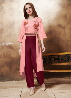 Pink Salwar Kameez For Reception