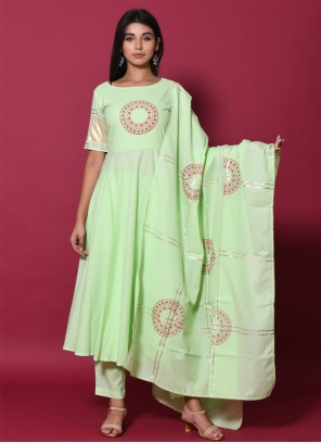 Salwar Mint Green Suit For Party