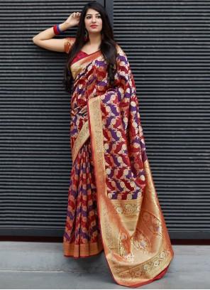 Satin Ceremonial Trendy Saree