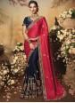 Satin Silk Stone Pink Classic Saree