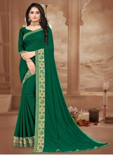 Sea Green Bollywood Saree