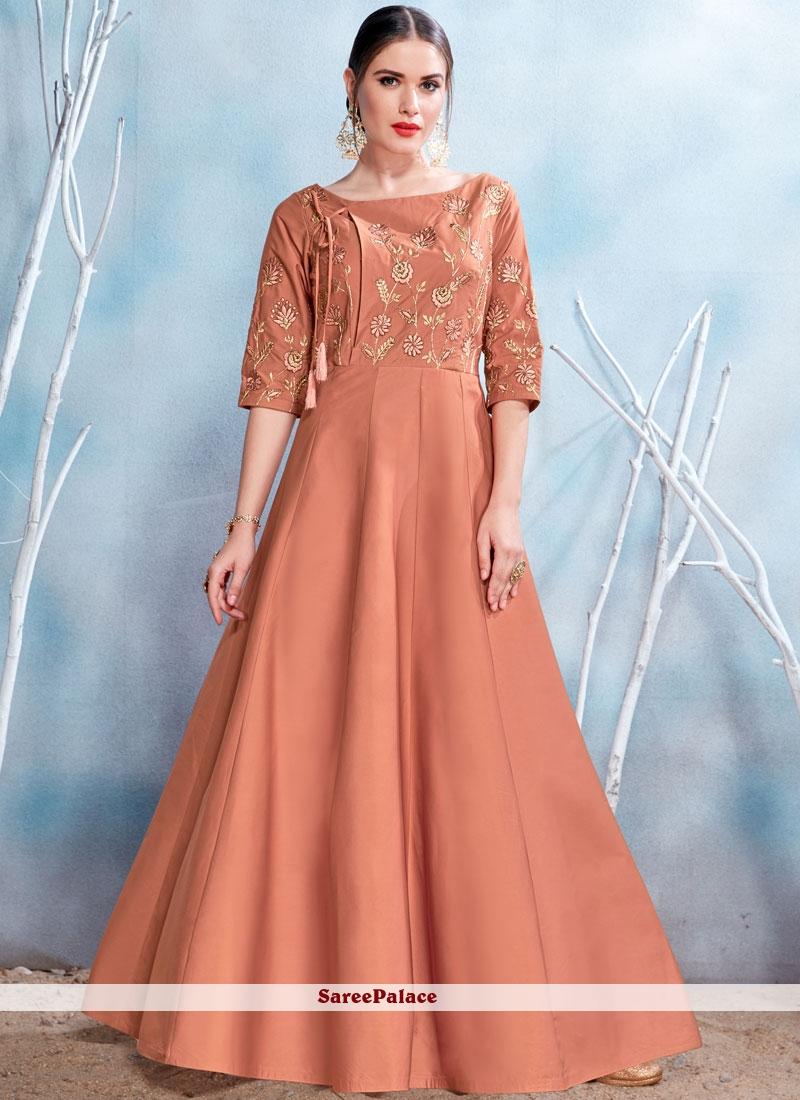 2a2f6d6cf1b Buy Sensational Fancy Fabric Readymade Gown Online
