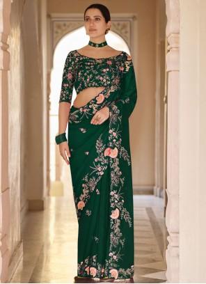 Sequins Organza Classic Designer Saree