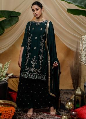 Sequins Palazzo Designer Salwar Suit