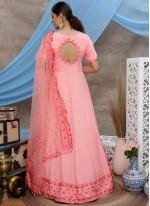 Sequins Silk Trendy Gown