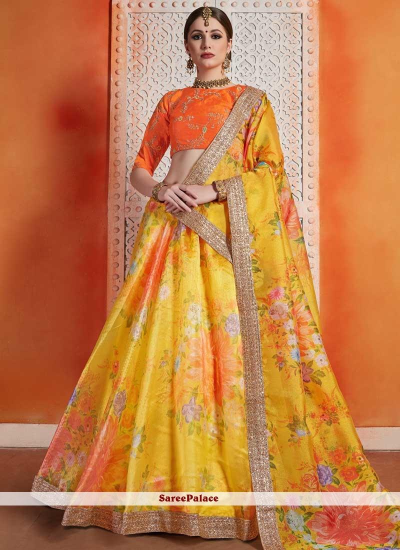 Sequins Trendy Lehenga Choli