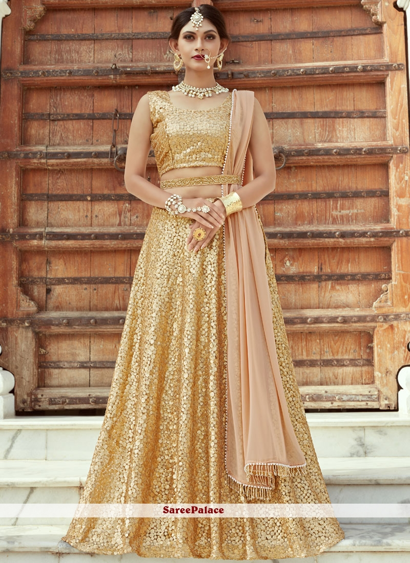 Sequins Work Designer Lehenga Choli