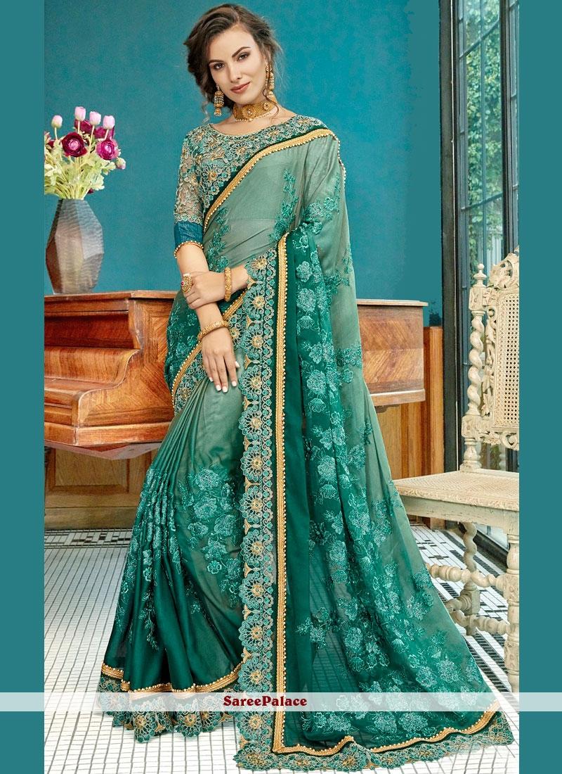 Shaded Saree For Wedding