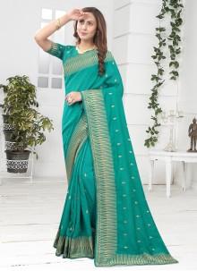 Rama Silk Designer Saree